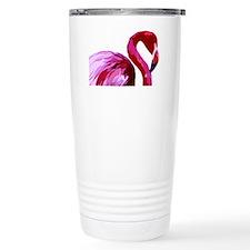 2-CafePress Flamingo.eps Travel Mug