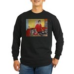 El DJ Booth Long Sleeve Dark T-Shirt