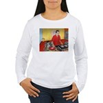 El DJ Booth Women's Long Sleeve T-Shirt