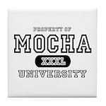 Mocha University Tile Coaster