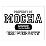 Mocha University Small Poster