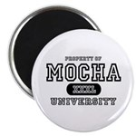 Mocha University Magnet