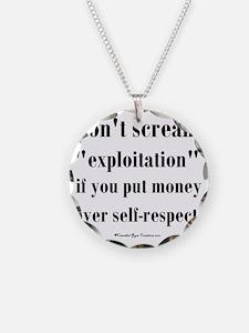 expoitation_sq Necklace