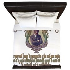 2-JFK on Secret Societies darks King Duvet