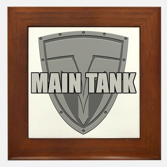 Main Tank Framed Tile