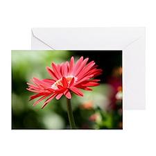 redflower1 Greeting Card