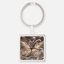 mariposa de  luz  best Square Keychain