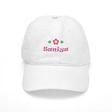 "Pink Daisy - ""Saniya"" Baseball Cap"