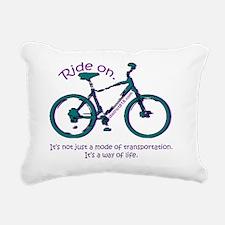 bicycle_2 Rectangular Canvas Pillow