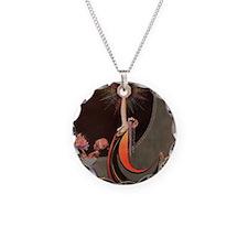 IPAD 4 ADA IPAD Necklace Circle Charm