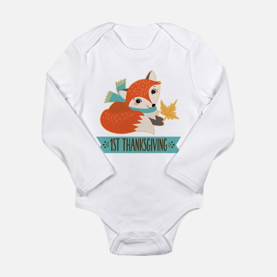 1st Thanksgiving Fox Body Suit
