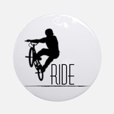 Ride Baby! Ornament (Round)