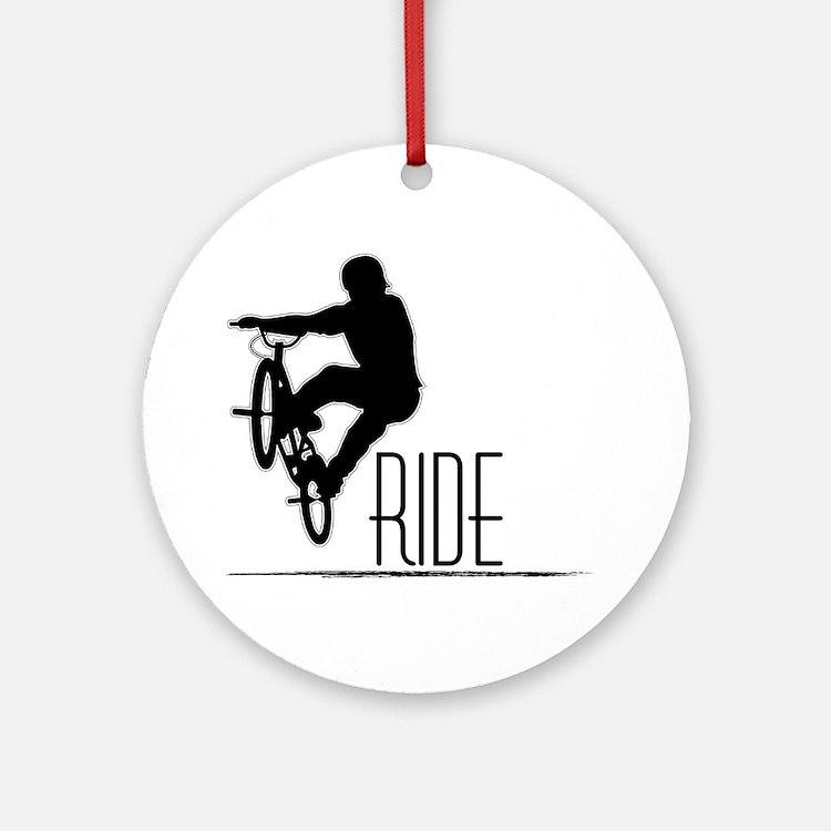 Ride Baby! Ornament (Round)
