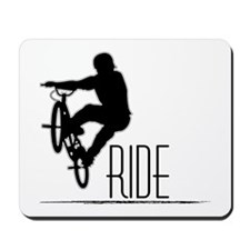 Ride Baby! Mousepad