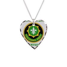 SS I - 2nd Armored Cavalry Re Necklace