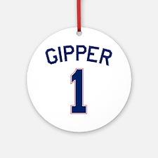 Gipper #1 Round Ornament