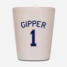 Gipper #1 Shot Glass