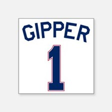 "Gipper #1 Square Sticker 3"" x 3"""