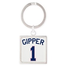 Gipper #1 Square Keychain
