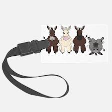 Donkeysdark Luggage Tag