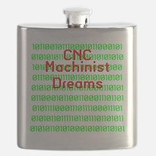 funny cnc machinist Flask