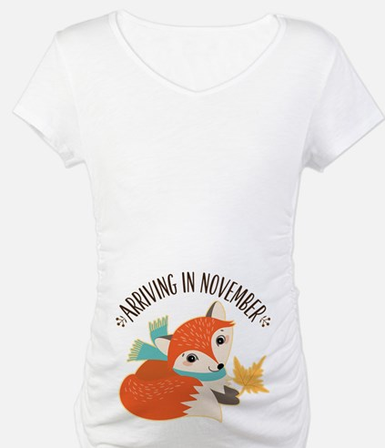 Fox November Maternity Shirt