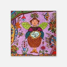 """Fairy Of CREATE Square Sticker 3"""" x 3"""""""