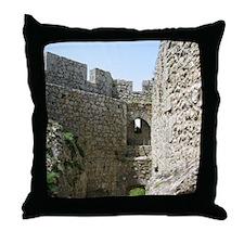 ruinsFrance01 Throw Pillow