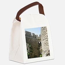 ruinsFrance01 Canvas Lunch Bag