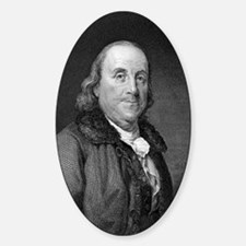 Benjamin Franklin by RW Dodson afte Decal