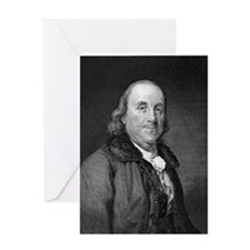 Benjamin Franklin by RW Dodson after Greeting Card