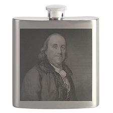 Benjamin Franklin by RW Dodson after JB Lon Flask