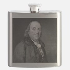 Benjamin Franklin by RW Dodson after JB Lon Flask
