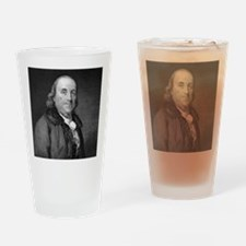 Benjamin Franklin by RW Dodson afte Drinking Glass