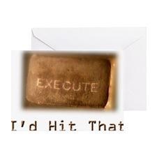 2-HitThat Greeting Card