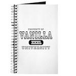 Vanilla University Journal