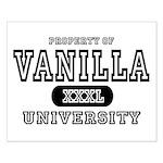 Vanilla University Small Poster