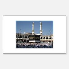 Kaaba Photo Rectangle Decal