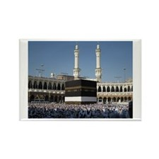 Kaaba Photo Rectangle Magnet