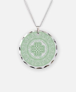 celtic_cinco_ltgreen Necklace