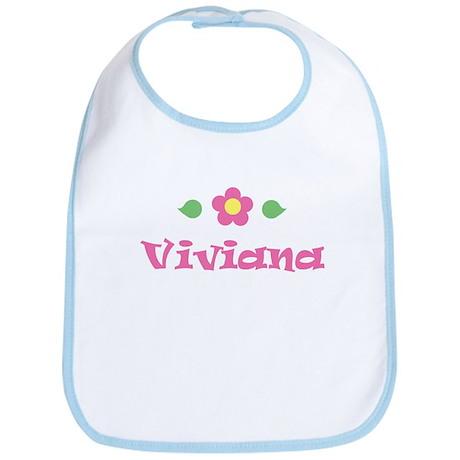 """Pink Daisy - """"Viviana"""" Bib"""
