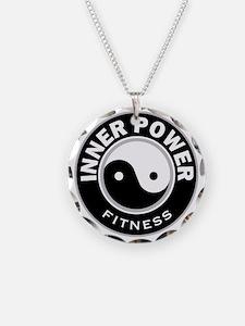 IPBWRoundBlk Necklace