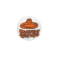 condom_happen_right_orange Mini Button