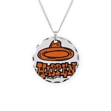 condom_happen_right_orange Necklace