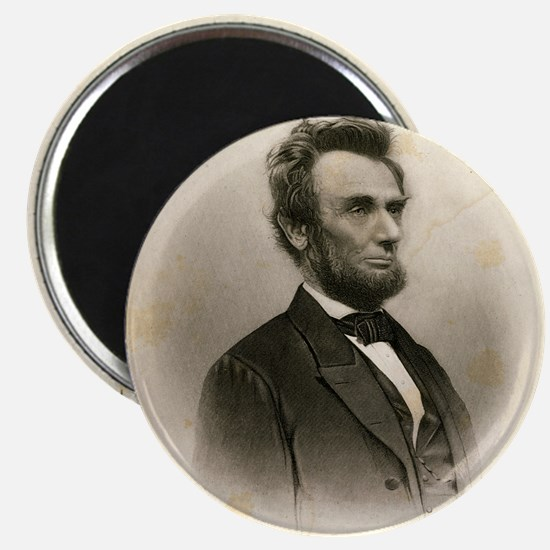 Portrait of Abe Lincoln-Edit Magnet