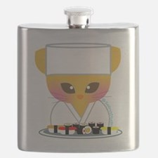 sushi chef cat Flask