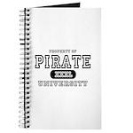 Pirate University T-Shirts Journal
