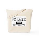 Pirate University T-Shirts Tote Bag