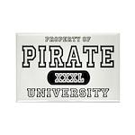 Pirate University T-Shirts Rectangle Magnet