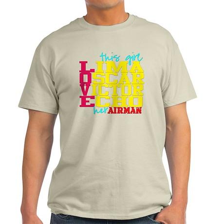l.o.v.eairman Light T-Shirt